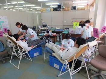 中部遊商献血活動