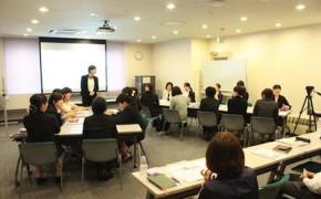 女性管理職養成研修の様子