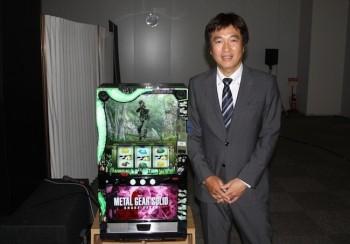 新機種の解説を行ったKPE執行役員制作本部の楠田和弘本部長