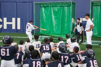 玉越野球教室