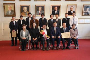 北沢組合車輌贈呈式2018
