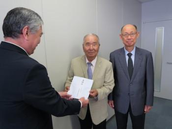 大阪福祉防犯義援金寄付