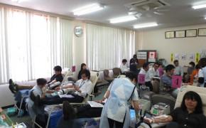 中部遊商献血