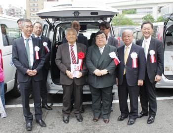 神奈川福祉車両寄贈2